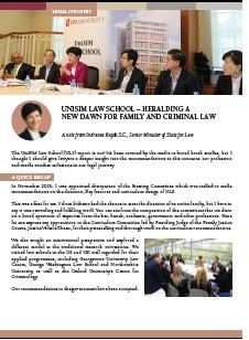 image of pdf: unisim law school - heralding a new dawn for family and criminal law