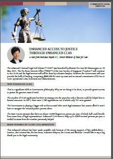 image of pdf file: enhanced access to justice through enhanced clas